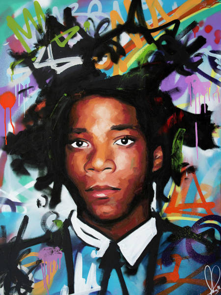 Andy Warhol Painting - Jean, Michel, Basquiat II by Richard Day