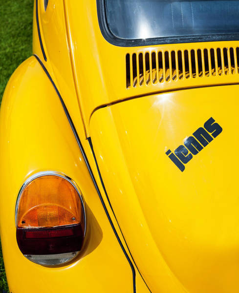 Volkswagen Kafer Photograph - Jeans Bug by Robert Walton