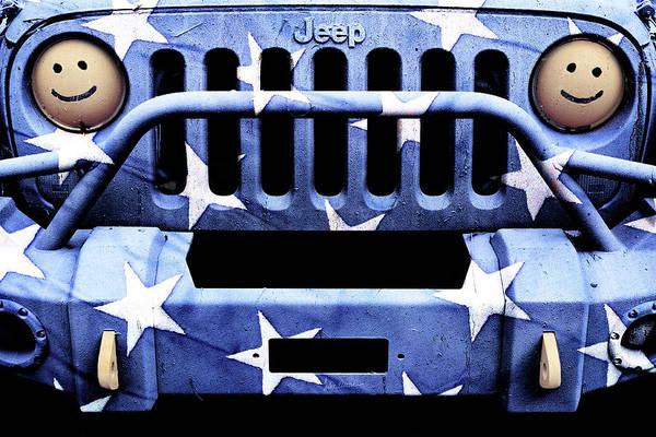 Wall Art - Photograph - Jeep Jk American Stars by Luke Moore