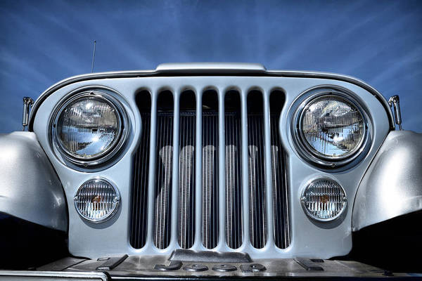 Photograph - Jeep Life - Blue Sky Cj by Luke Moore