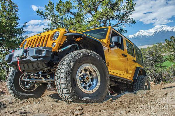 Wall Art - Photograph - Jeep Life by Tony Baca