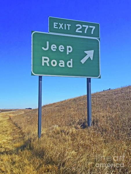 Photograph - Jeep Road by Tony Baca