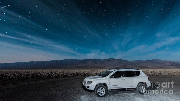 Photograph - Jeep Under The Stars by Jim DeLillo