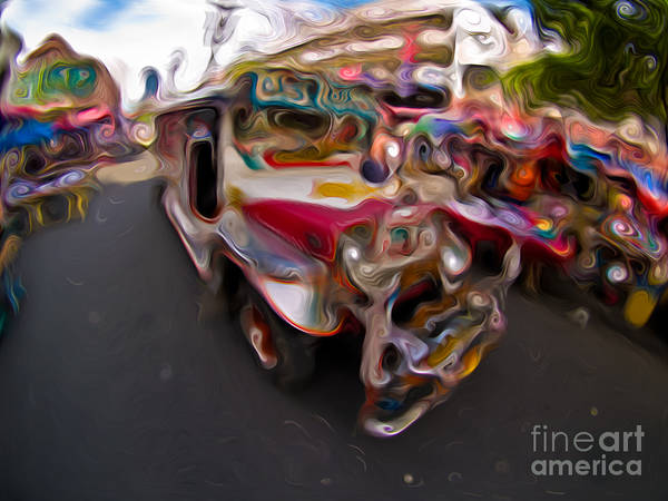 Mixed Media - Jeepney 62932421 by Rolf Bertram