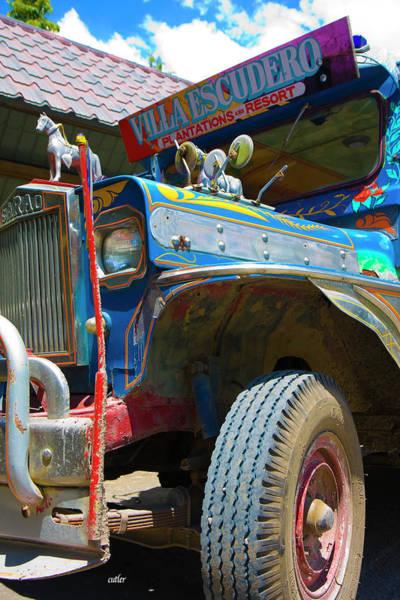 The Philippines Wall Art - Photograph - Jeepney by Betsy Knapp