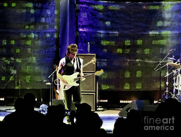 Photograph - Jeff Beck -tour 2016 Loud Hailer by Tanya Filichkin