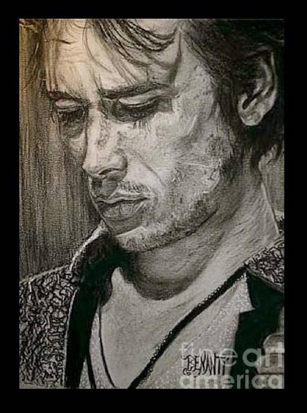 Jeff Buckley Wall Art - Drawing - Jeff Buckley by Dianne Lynn Benanti