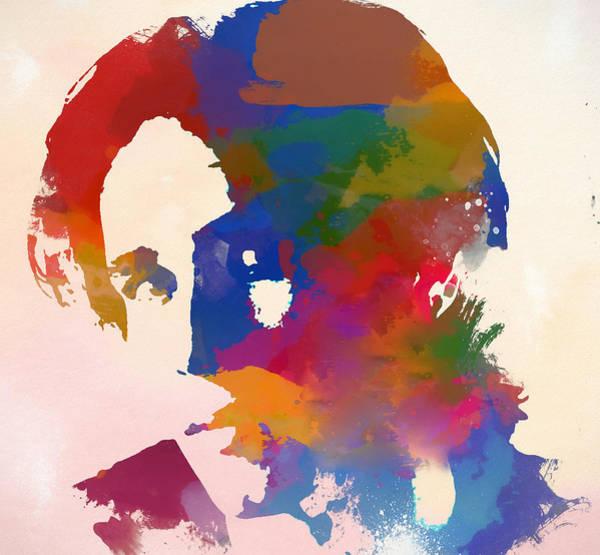 Jeff Buckley Wall Art - Painting - Jeff Buckley Watercolor by Dan Sproul