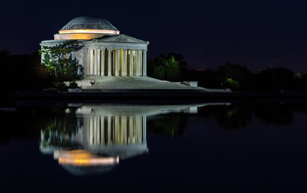 Photograph - The Jefferson At Night by Ed Clark