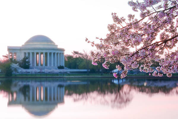 Tidal Photograph - Jefferson At Sunrise by Don Lovett