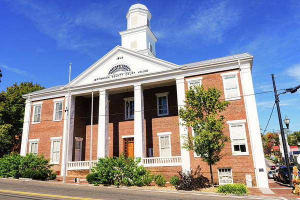 Photograph - Jefferson County Courthouse Dandridge by Sharon Popek