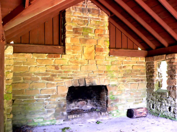 Photograph - Jefferson Lake Shelter by Kathy K McClellan