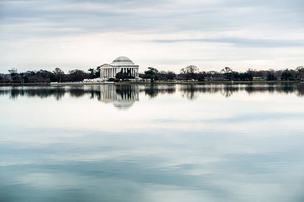 Photograph - Jefferson Memorial And Tidal Basin by SR Green