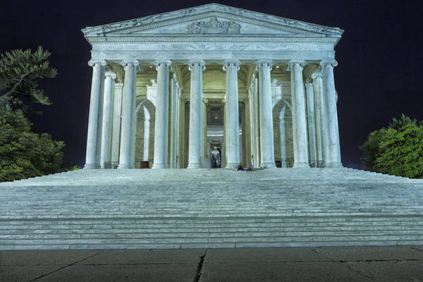 Photograph - Jefferson Memorial by Belinda Greb