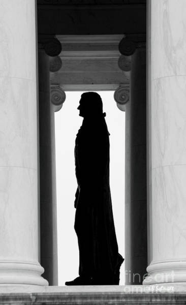 Photograph - Jefferson Memorial by E B Schmidt