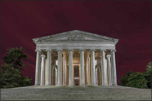 Photograph - Jefferson Memorial by Erika Fawcett