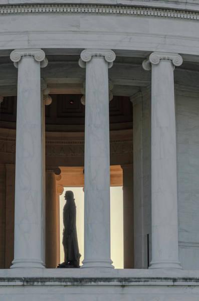 Photograph - Jefferson Memorial History by Stewart Helberg