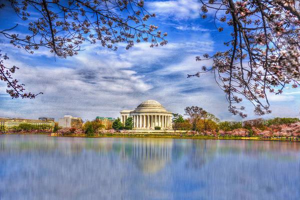 Wall Art - Photograph - Jefferson Memorial by Paul Wear