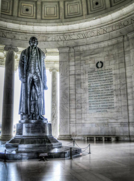 Photograph - Jefferson Memorial by Ross Henton