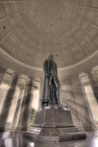 Photograph - Jefferson Memorial by Shelley Neff