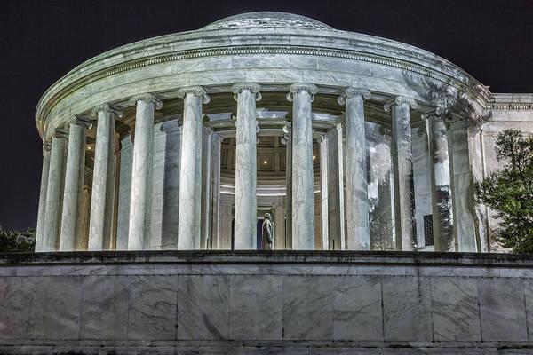 Photograph - Jefferson Memorial - Side View by Belinda Greb