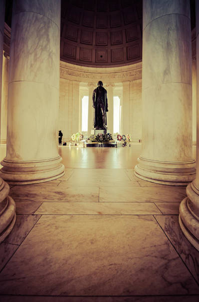 Photograph - Jefferson Memorial by Stewart Helberg