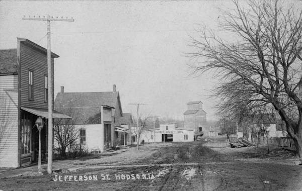 Postcard Photograph - Jefferson Street by Greg Joens
