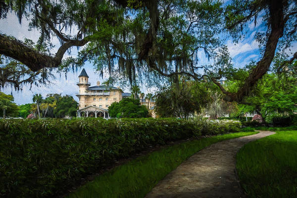 Photograph - Jekyll Island Club - Artistic by Chris Bordeleau