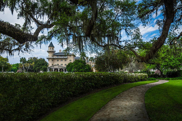 Photograph - Jekyll Island Club by Chris Bordeleau