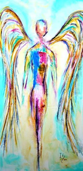 Wall Art - Mixed Media - Jeliel by Ivan Guaderrama