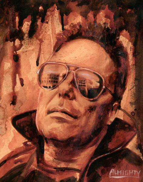 It Professional Painting - Jello Biafra - 2 by Ryan Almighty