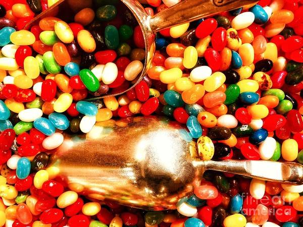 Jelly Belly Photograph - Jelly Beans And More Jelly Beans by Paul Wilford