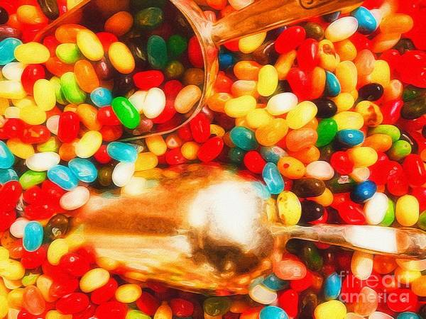 Jelly Belly Photograph - Jelly Beans  by Paul Wilford