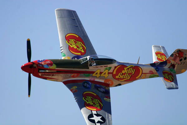 Jelly Belly Photograph - Jelly Belly P-51 by Craig Sanders