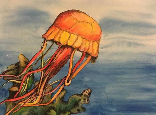 Painting - Jellyfish  by Mastiff Studios