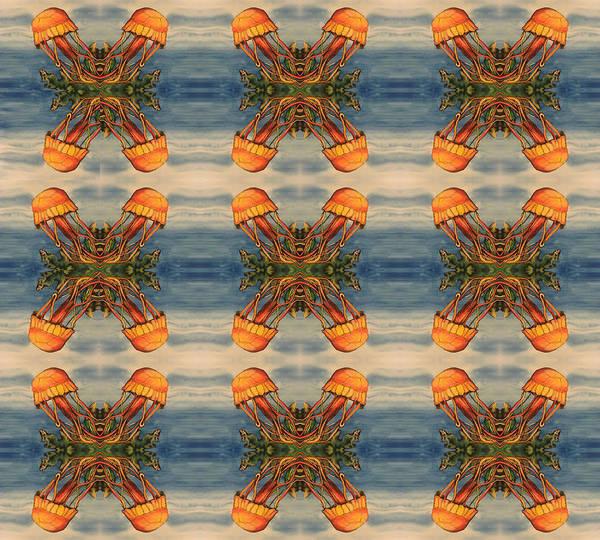 Painting - Jellyfish Pattern by Mastiff Studios