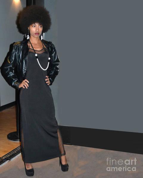 Runway Model Photograph - Jenae Muhammad #1 by Heather Kirk