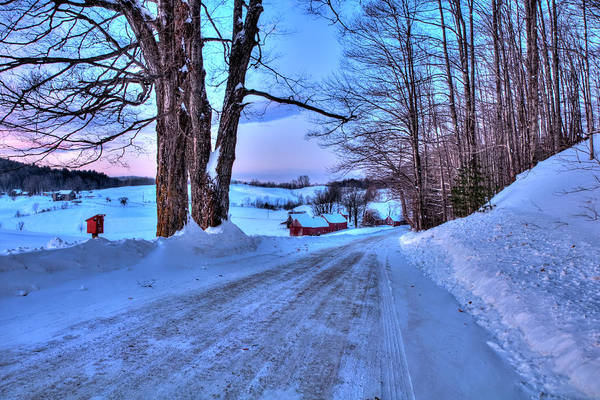 Photograph - Jenne Farm In Winter - Vermont by Joann Vitali