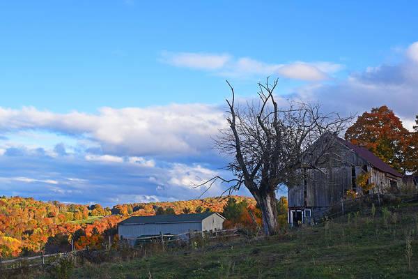 Photograph - Jenne Farm Reading Vermont Vt Shack by Toby McGuire