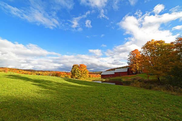 Photograph - Jenne Farm Reading Vermont Vt  by Toby McGuire