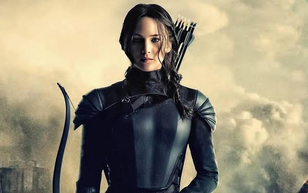 Jennifer Lawrence The Hunger Games  2012 Publicity Photo Art Print