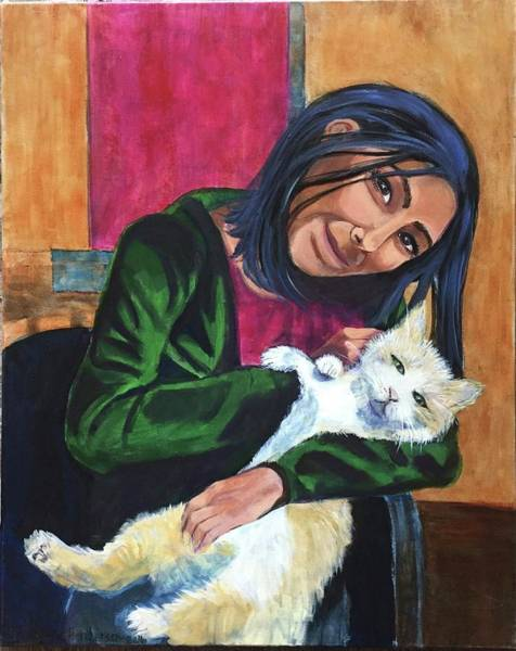 Painting - Jenny And Rogan by Cherylene Henderson