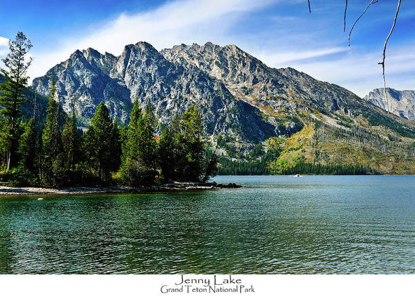 Art Print featuring the photograph Jenny Lake by Greg Norrell