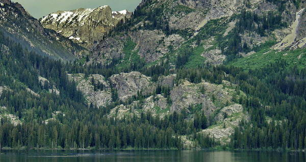 Photograph - Jenny Lake, Wyoming by Russ Harris