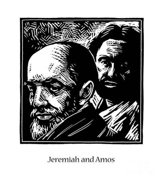 Painting - Jeremiah And Amos - Jljaa by Julie Lonneman