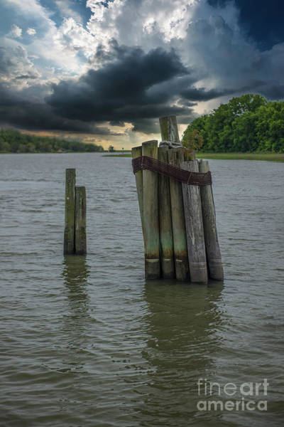 Photograph - Jeremy Creek Stormy Approach by Dale Powell