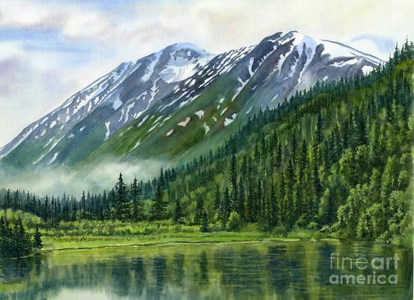 Wall Art - Painting - Jerome Lake Alaska by Sharon Freeman