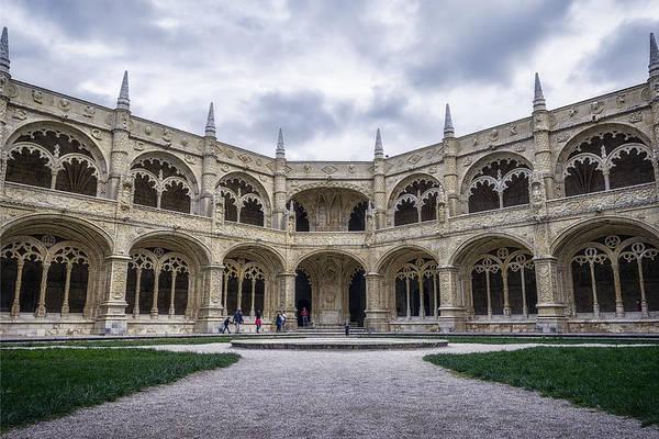 Photograph - Jeronimos Monastery Cloister by Joan Carroll