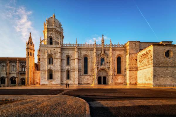 Photograph - Jeronimos Monastery - Lisbon, Portugal by Nico Trinkhaus