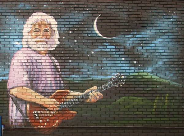 Deadhead Wall Art - Photograph - Jerry Garcia by Karen Silvestri